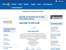 Tablet Preview of cedarparkrotary.org